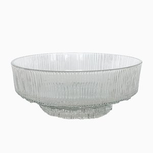 Mid-Century Bowl in Ice Glass, 1960s