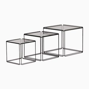 Isosceles Nesting Tables by Max Sauze, 1970s