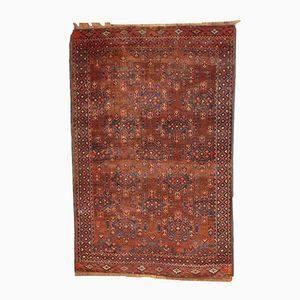 Antique Turkmen Yomud Handmade Rug, 1880s