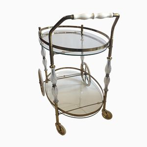 Brass Bar Cart, 1960s