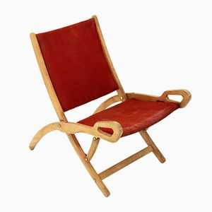 Ninfea Folding Chair by Gio Ponti for Fratelli Reguitti, 1950s