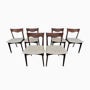 Vintage Rosewood Dining Chairs from Awa, Set of 6