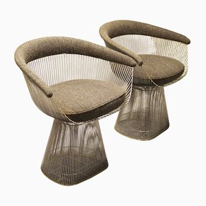 Poltrone modello nr. 1725A di Warren Platner per Knoll International, anni '60, set di 2