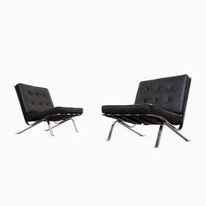 Vintage RH-301 Lounge Chairs by Robert Hausmann for de Sede, Set of 2