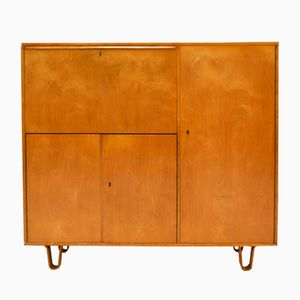 Mid-Century CB01 Birch Cabinet by Cees Braakman for Pastoe