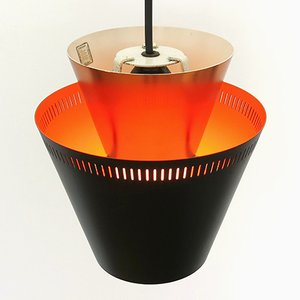 Mid-Century Danish Matador Lamp by Jo Hammerborg for Fog & Mørup, 1960s