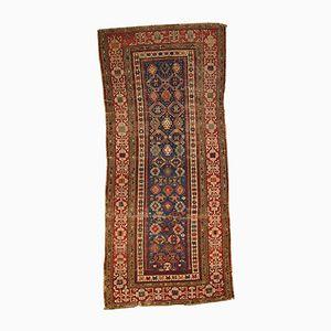 Antiker Russischer Handgeknüpfter Kuba Teppich, 1880er