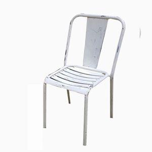 Vintage Modell T4 Stuhl in Weiß von Xavier Pauchard für Tolix