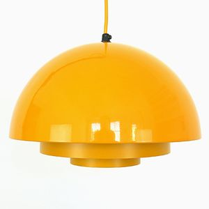 Danish Milieu Pendant Light by Jo Hammerborg for Fog & Mørup, 1970s