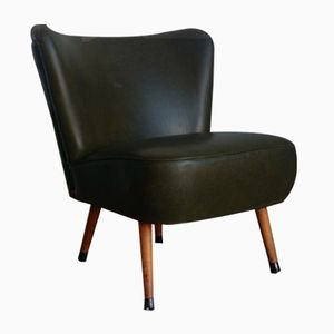 Vintage Green Cocktail Chair, 1960s