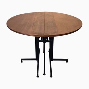 Vintage Dining Table with Folding Top