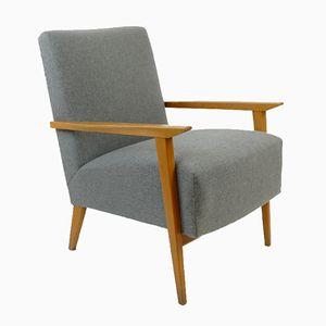 Mid-Century Grey Armchair, 1960s