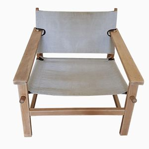 Vintage Oak Lounge Chair by Børge Mogensen for Fredericia