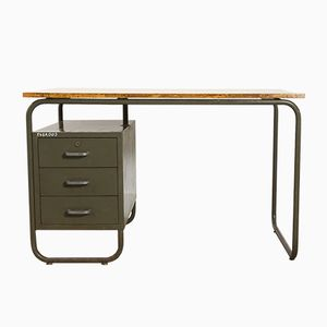 Tubular Bauhaus Desk, 1950s