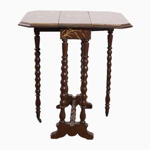Chinoiserie Gate Leg Table, 1850s