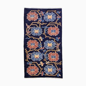 Antique Tibetan Handmade Khaden Rug, 1900s
