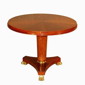 Pedestal Table with Claw Feet, 1940s