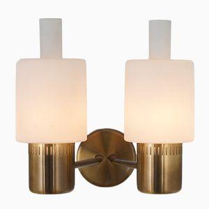 Mid-Century Nordlys Wandlampe von Jo Hammerborg für Fog & Mørup