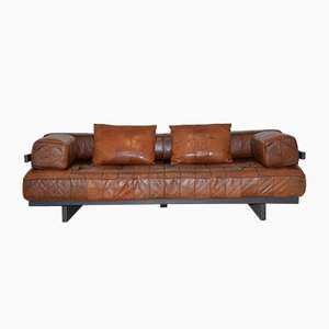 Swiss DS 80 Leather Daybed from de Sede, 1960s