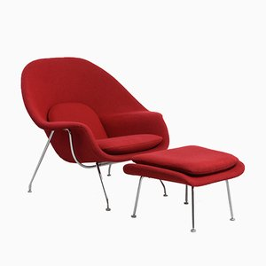 Vintage and contemporary furniture and lighting online - Vintage womb chair for sale ...