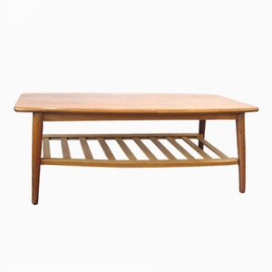 Wooden Coffee Table, 1960s