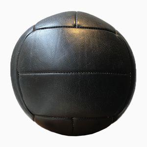 Leather Medicine Ball, 1940s