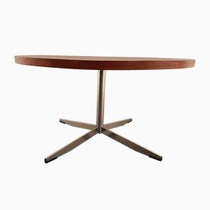 Round Teak Coffee Table, 1960s