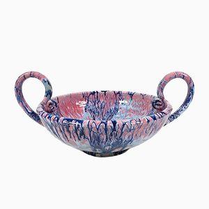 Vintage Keramik Schale von S. Paul Giordanno