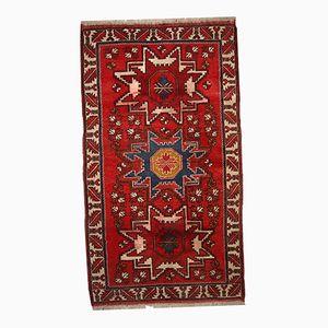 Vintage Russian Shirvan Handmade Rug, 1950s