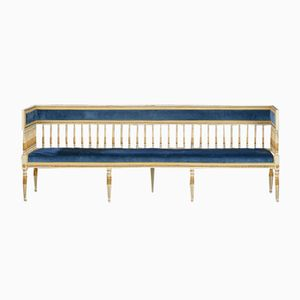 Antique Gustavian Swedish Bench