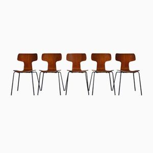 3103 Chairs by Arne Jacobsen for Fritz Hansen, 1970s, Set of 5