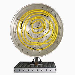 Große Prototyp Neon Tischlampe von Chris Bracey für Soho House