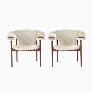 Lounge Chairs by Adrian Pearsall for Craft Associates, 1970s, Set of 2