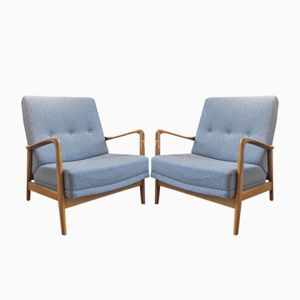 Hotel Parco dei Principe Armchairs by Gio Ponti, 1958, Set of 2