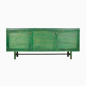 Finnish Green Oak Sideboard from Asko, 1965