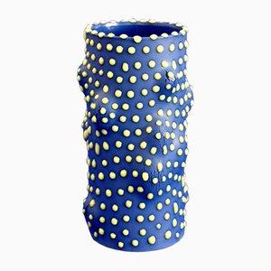 Camouflage Vase Blue von Ahryun Lee