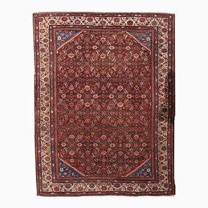 Antiker Persischer Handgeknüpfter Mahal Teppich, 1900er