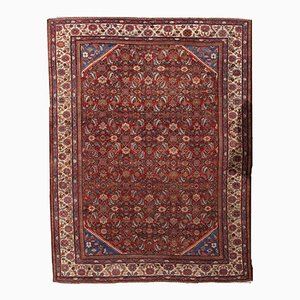Antique Persian Mahal Handmade Rug, 1900s