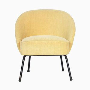 Yellow Cocktail Armchair from Artifort, 1950s