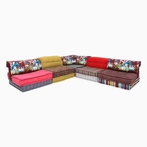 Mah Jong Modular Sectional Corner Sofa by Hans Hopfer for Roche Bobois, 1970s