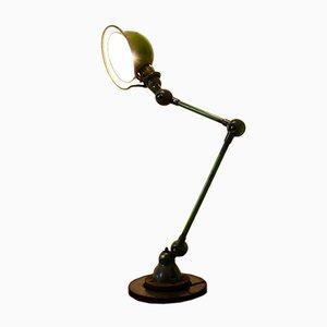 Industrielle Vintage Schreibtischlampe von Jean Louis Domecq für Jieldé