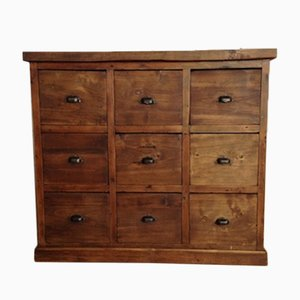 Vintage Chest of 9 Drawers