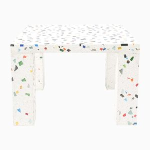 Nara Terrazzo Side Table by Shiro Kuramata for Memphis, 1985
