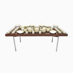 Großes Torino Speise & Kaffee Porzellan Service von Richard Ginori, 1960er, 127er Set