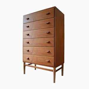 Model F17 Chest of Drawers by Poul Volther for FDB, 1950s