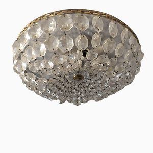 Crystal Ceiling Light, 1950s