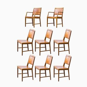 Dining Chairs by Bertil Fridhagen for Bodafors, 1961, Set of 8