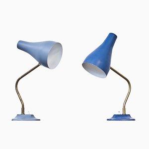 Schwedische Tischlampen von ASEA, 1950er, 2er Set