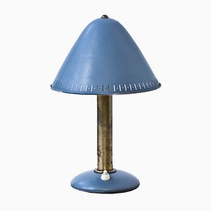 Blue Table Lamp from ASEA, 1950s
