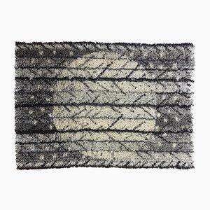 Schwedischer Vintage Rya Teppich von Marianne Richter